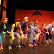 Cast dances in finale of play.