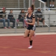 """Alyssa Emerson runs the anchor leg on the women's 4x400m relay team. She is a very special athlete as a freshman from River Valley High School. She won this race two weeks in a row. """"I plan to run the 200m and 400m sprints in addition to the relays. I love this team. I don't want to go anywhere else but here. I'm training harder every day."""" Emerson's team posted a 4:49 time for the winning race. She plans to transfer after graduation in the field of agricultural science."""