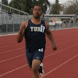 """Dom Bellamy is in his sophomore year at Yuba College. He is the voice of Yuba College track. """"I try my best to bring positive energy to the program. I like to keep the athletes loose and help my teammates to make the most of their ability. I've learned a lot while here and I stay grounded. My first step is to maintain my focus. The next step is to always remember to keep your eye on the goal. Lord willing, I believe I'll have a chance to run at the next level, a four year university. I hope to earn a scholarship and continue to compete."""""""