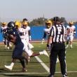 Ariyon Huff runs in a touchdown.