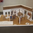 Model replica plan for the Library exhibit