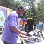 DJ Purd Man in action | photo provided by Nikki Walker
