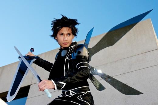 Casey Cabuco from Kimcaboom studios as Kirito from SAO