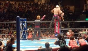 Photo of Hiroshi Tanahashi vs. Katsuyori Shibata