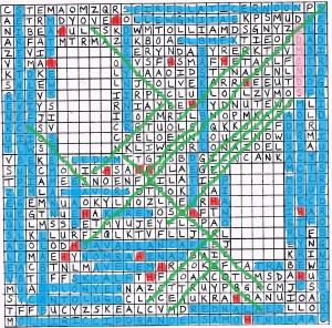 Solution to Aaron's Epic Word Search Fall 2014