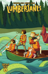 Lumberjanes Cover