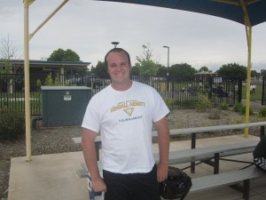 Kyle Cammon, premier shot put for Yuba College track and field.