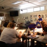 Artist insider with Yuba College's Rebecca Wallace