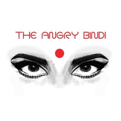 Eyes with a Red Bindi and The Angry Bindi