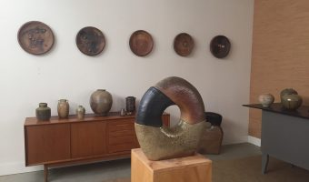 Wood fire and Fall Colors: Glenn Husted in the Open Studios Art Tour