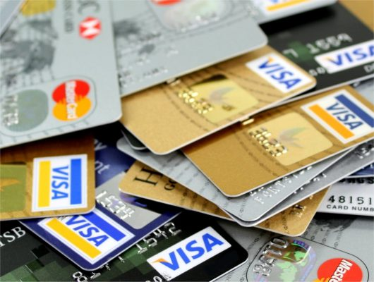 many various credit cards