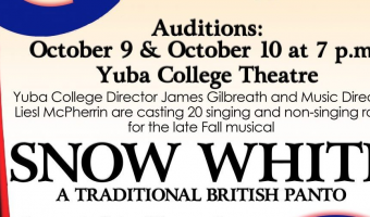 Auditions for Yuba College's Snow White