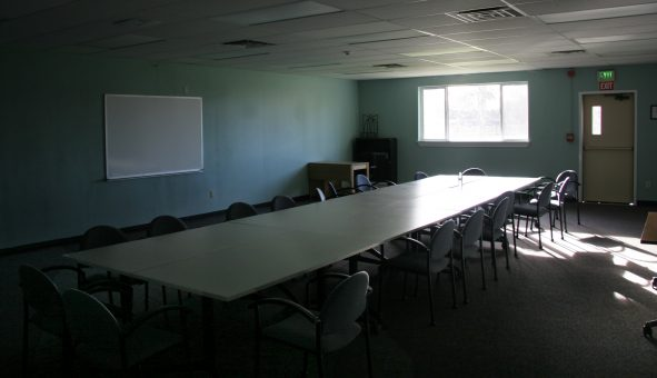 Life building center lecture area